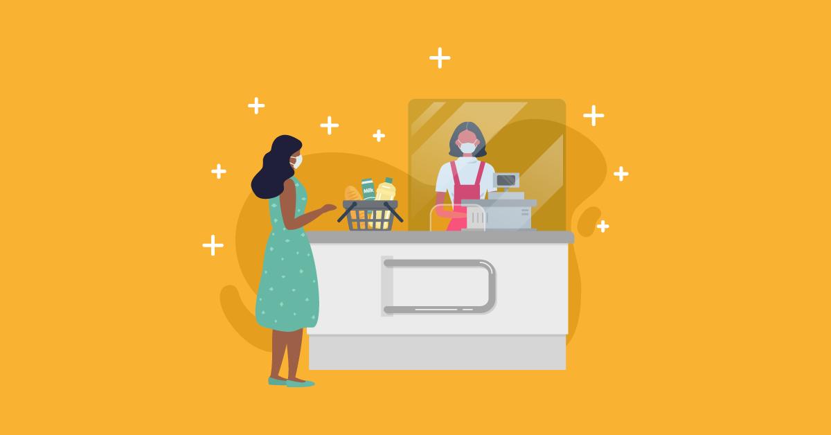 Experiência de compra em Supermercado