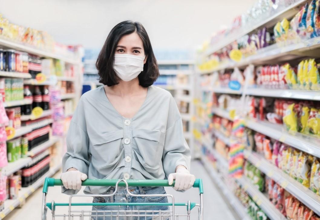 81% dos brasileiros vão menos aos supermercados após a pandemia do novo coronavírus