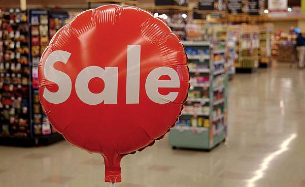 imagem com um balão de vendas em um ponto de venda pdv
